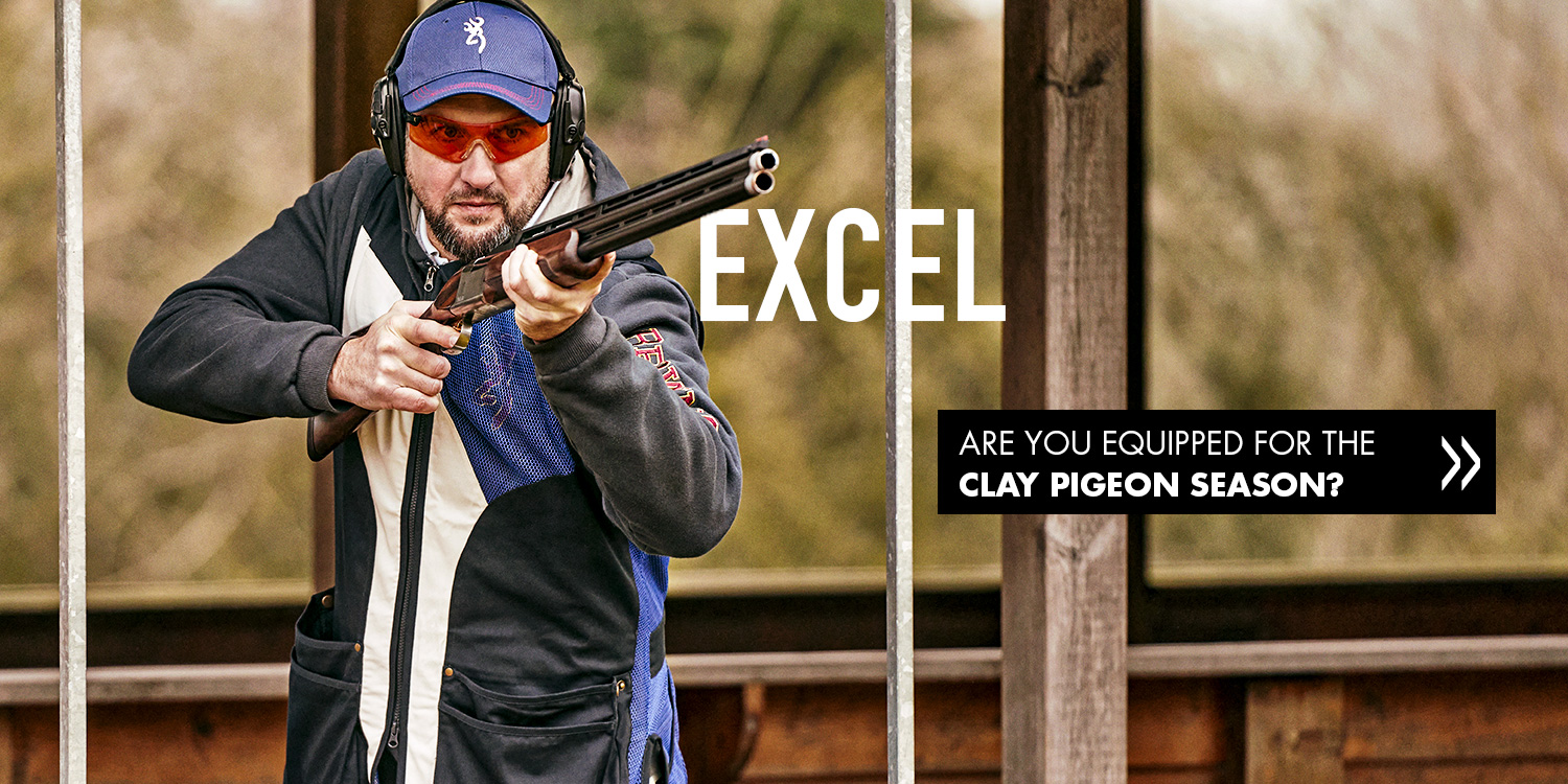 Browning clay shooting Excel